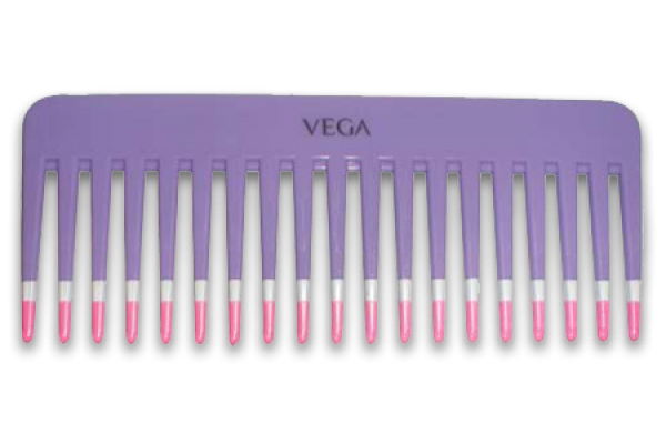 Vega Detangling Hairbrush Comb Large Teeth