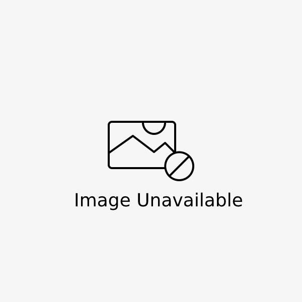 Large Pale Silver Flower Grey Real Leather Bracelet