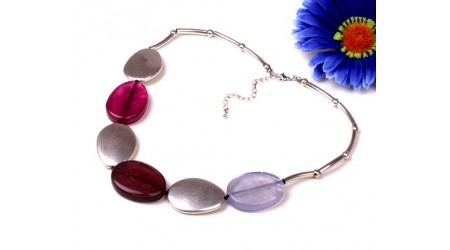 Disc Beads Necklace